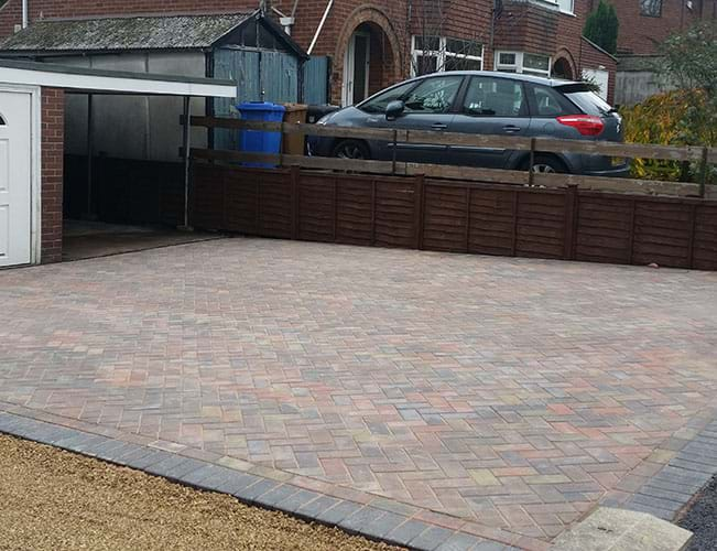 Block Paving Midland Sectional Garages